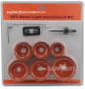 9PC Down Light Installation Kit-hole saw set