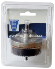 32-63mm 7 Piece Carbon Steel Hole Saw Kit For Wood and Plastics