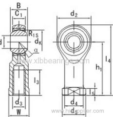 Bearings Rod Ends SI50T/K