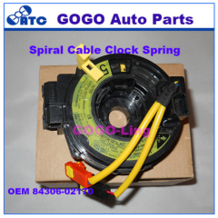 High Quality Spiral Cable Clock Spring For Toyota Corolla 2006-2012 OEM 84306-02170 8430602170