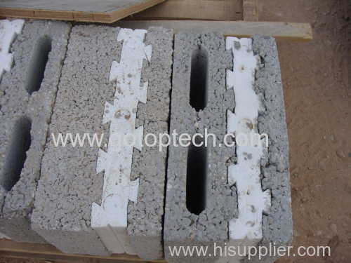 eps block insert mould by eps Shape Molding Machine Designed Package Box ICF Block Insulation Insert Block