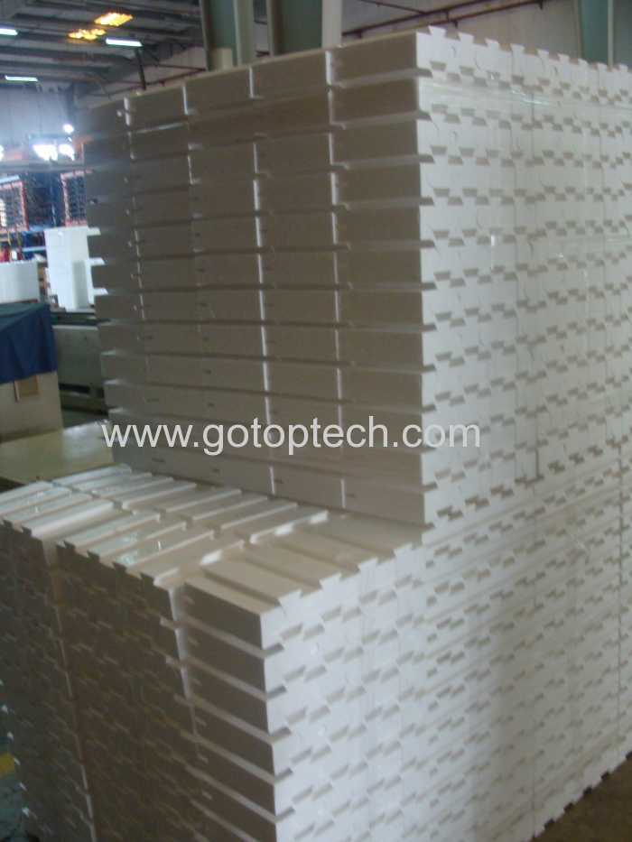 Injection Molded Thermo Block Insert Polystyrene Block