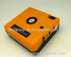 The new integrated machine for jump starter and tyre inflator