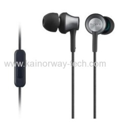 Sony MDR-EX650B Inner Ear Headphone Earphones with Brass Housing Smartphones Mic And Control black