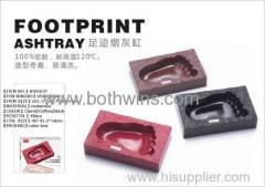 FOOTPRINTING ASHTRAY Easy to clean