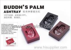 BUDDH'S Plam ashtray easy to clean