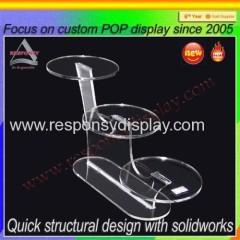 New product acrylic display shoe display stand