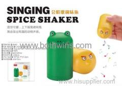 lovely singing spice shaker(2pcs/set)