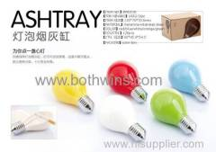 Creative color bulbs ashtray