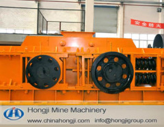 New type barite double teeth roll crusher for sale