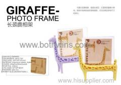 Lovely giraffe photo frame