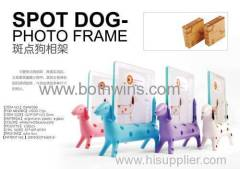 Spot dog photo frame