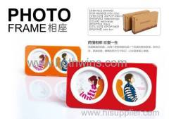 Photo frame suitable for lovers