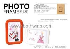 delicate melamine photo frame