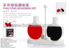 Ping pong seasoning set