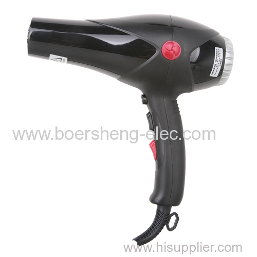 The salon special blower high power electric blower negative ion