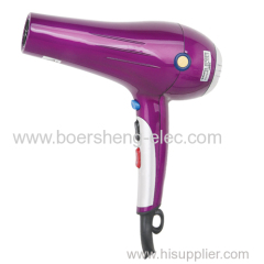 High power and negative ion cold hot air pet for household dormitory hair dryer