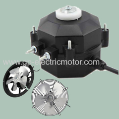 Small AC ECM EC DC Shaded Pole Fridge Deep Freezer Evaporator Condenser Refrigerator Fan Motor For Display Case