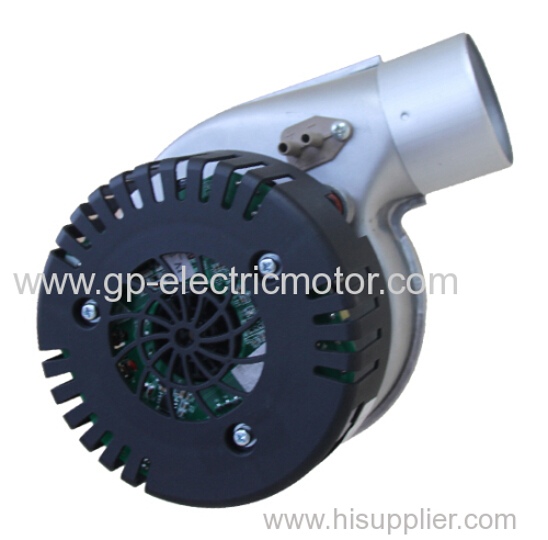Wall hung gas boiler blower fan