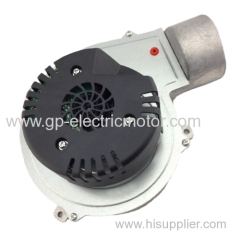 Heating equipment gas blower combustion fan