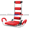 Red AB Chair Rocket Twist 360 Rocket Fitness Chair Twistable Exerciser AB Twisting Chair As Seen On TV