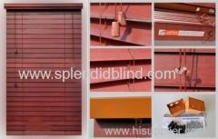 2''/50mm Wooden Venetian Blind Bottom rail for Blind/ Basswood bottomrail blinds
