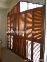 63MM/89MM/114MM Manufucturer Wooden Plantation Shutters