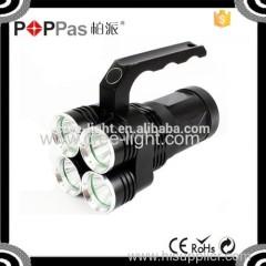 Newest design Lumifire 3300 High Power 2000 lumens 4*xml t6 portable strobe outdoor emergency light flashlight