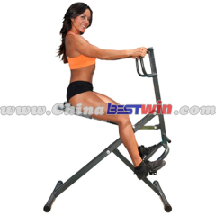Body Crunch with Magnetic Bike
