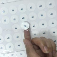 Permanent Adhesive Dia 15mm Custom Destructible Labels Tamper Evident Sticker Broken Warranty Void