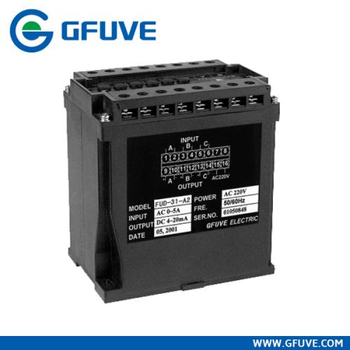 three phase AC current voltage transducer