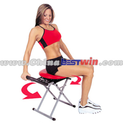 red exercise indoor fitness equipment