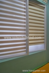 Roller blinds with circle aluminum bottom bar Spring loading roller blinds made to measure