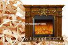 Classic Decoration Vintage Electric Fireplace Heater with Remote Control