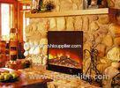 Remote Control LED Wall mounted Electric Fireplace , Custom 42 Inch / 50 Inch Electric Fireplace