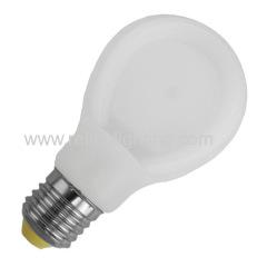 LED flat bulb 9W plastic body