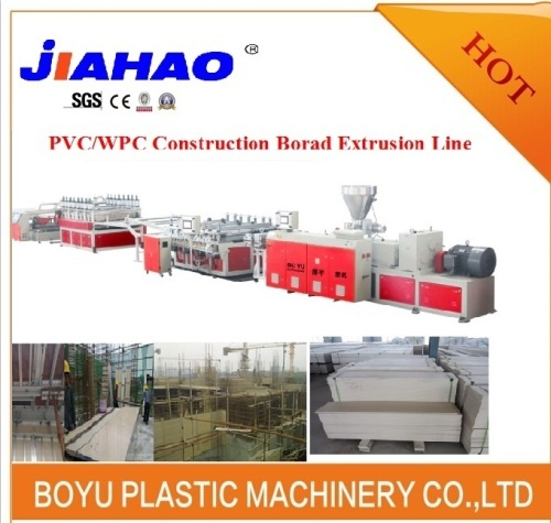 WPC Building Template Machine