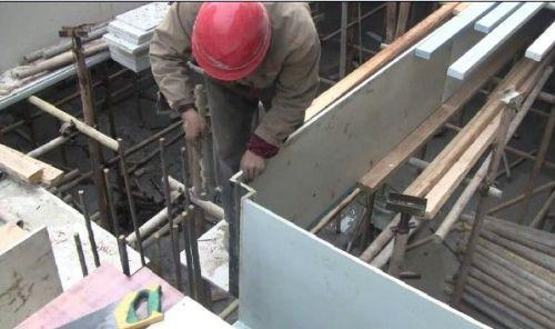 PVC building template extrusion machine