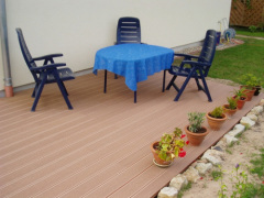wood plastic composite plant