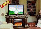 Decorative Fake Frame Heating Electric Fireplaces TV Stands Free Standing