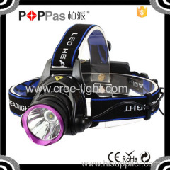 POPPAS T90C 400 Lumen XML high power zoom led headlamp flashlight