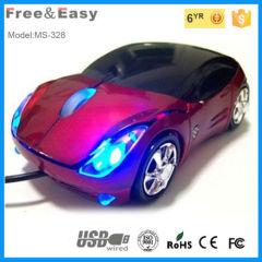 OEM LED light mini usb car gift mouse