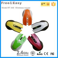 high resolution DPI adjustable 6d 2.4g mouse