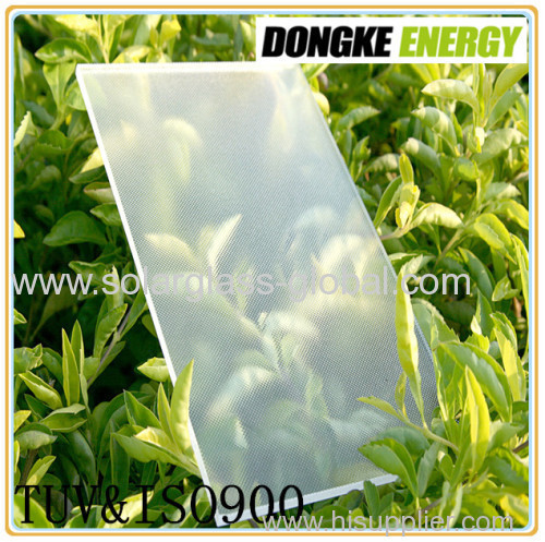 3.2mm Anti-reflective solar panel glass with high quality