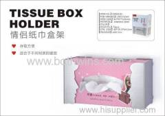 Lover tissue box holder