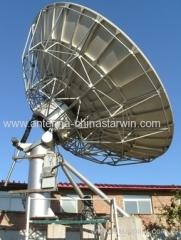 6.2meter satcom aluminum antenna