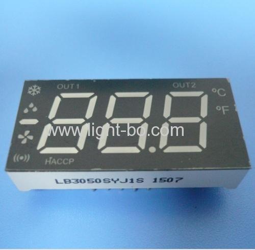 Custom Design Mehrfarben 3 1/2 stellige 7-Segment-LED-Anzeige für die Kühlsteuerungs