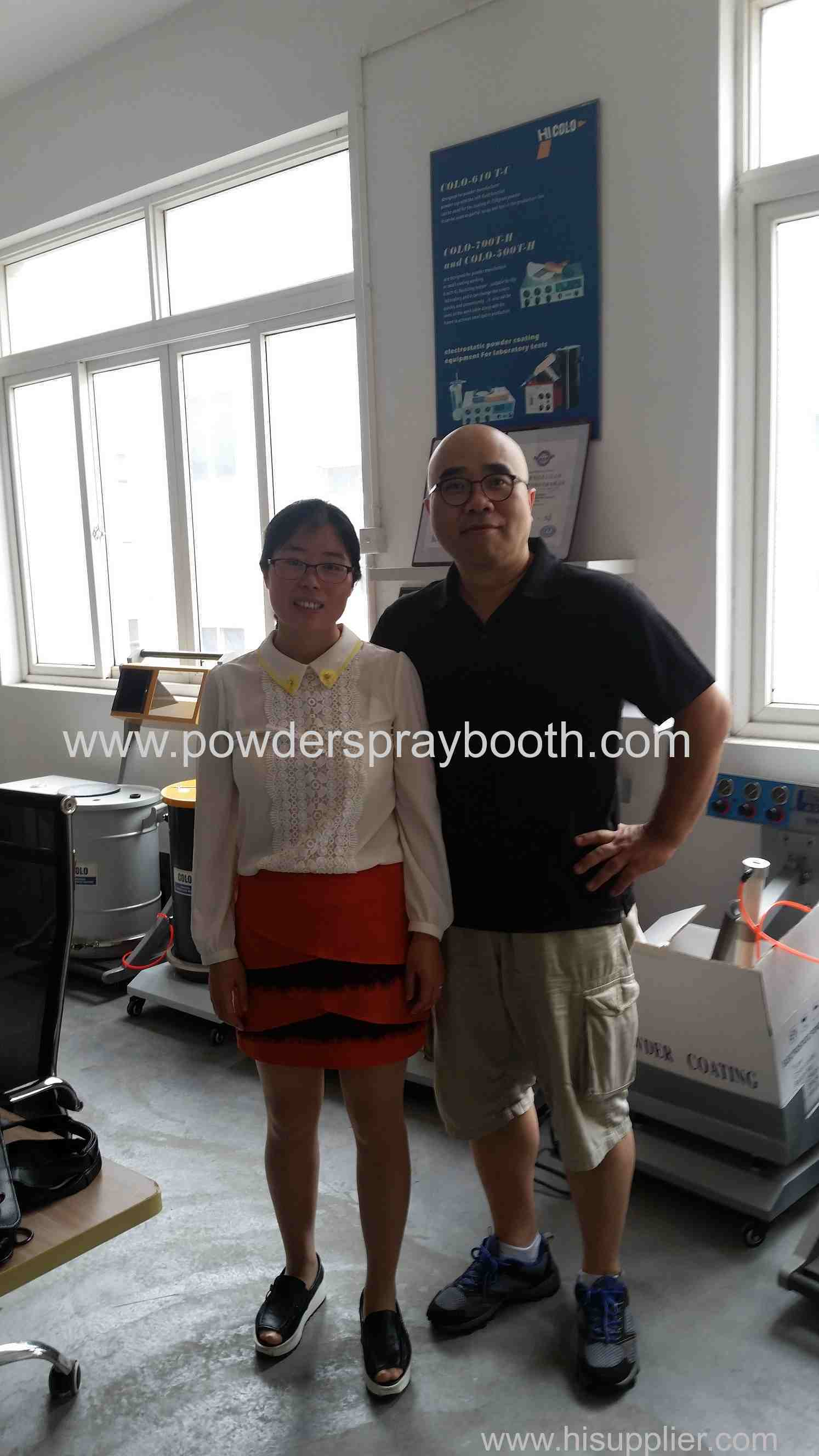 USA customer place order for powder spare parts