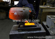 The characteristics of induction furnace series heating furnace