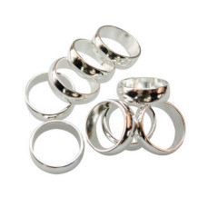 Zn Ring Strong Powerful Permanent N48 Neodymium Magnet